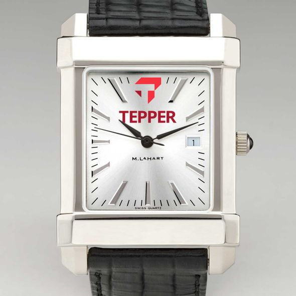 Tepper Men's Collegiate Watch with Leather Strap