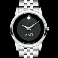 Alpha Delta Pi Women's Movado Museum with Steel Bracelet