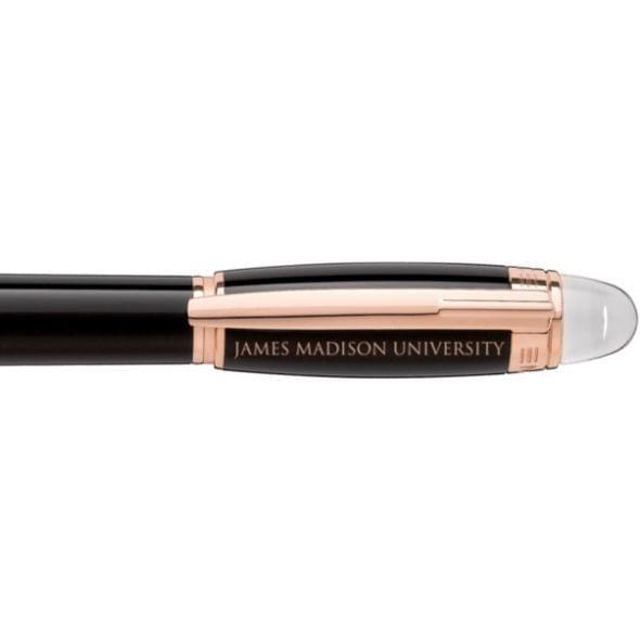 James Madison University Montblanc StarWalker Fineliner Pen in Red Gold - Image 2