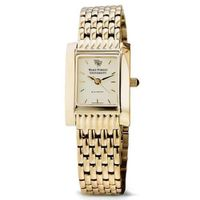 Wake Forest Women's Gold Quad Watch with Bracelet