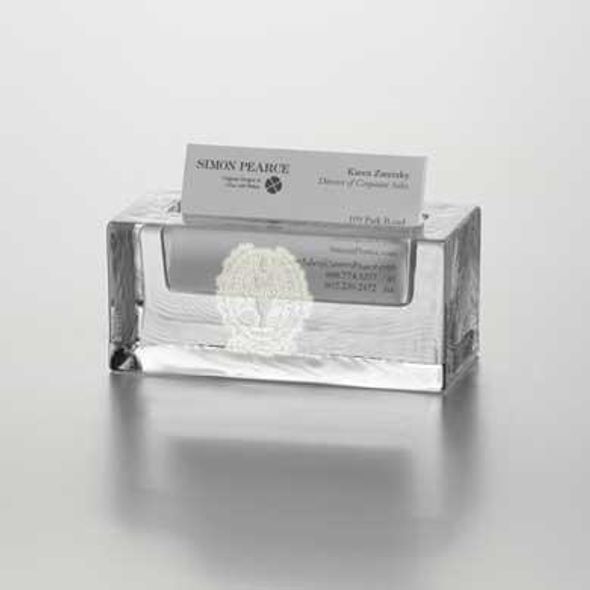 Georgetown Glass Business Cardholder by Simon Pearce