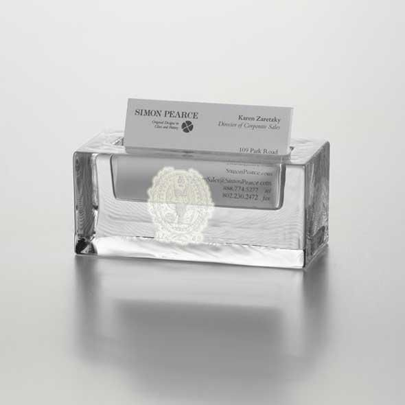 Georgetown Glass Business Cardholder by Simon Pearce - Image 2