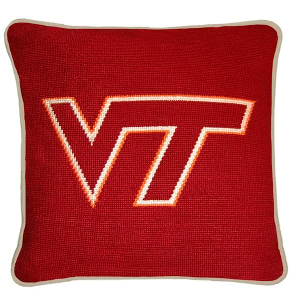 Virginia Tech Handstitched Pillow - Image 2