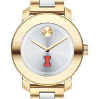 University of Illinois Women's Movado Two-Tone Bold