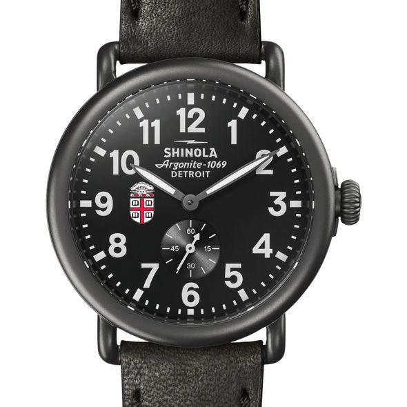 Brown Shinola Watch, The Runwell 41mm Black Dial