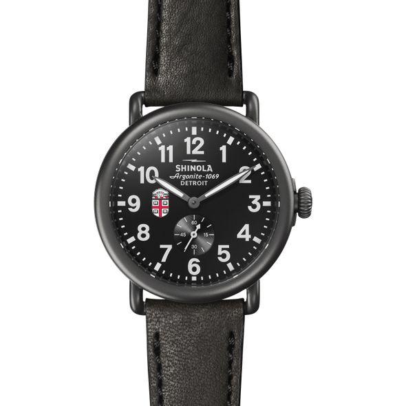 Brown Shinola Watch, The Runwell 41mm Black Dial - Image 2