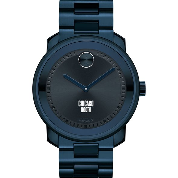 Chicago Booth Men's Movado BOLD Blue Ion with Bracelet - Image 2