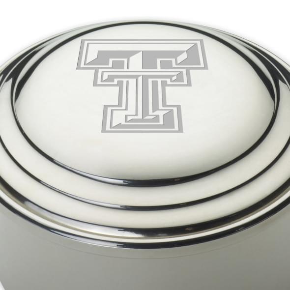 Texas Tech Pewter Keepsake Box - Image 2