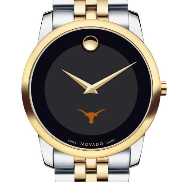 Texas Men's Movado Two-Tone Museum Classic Bracelet