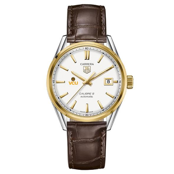 VCU Men's TAG Heuer Two-Tone Carrera with Strap - Image 2