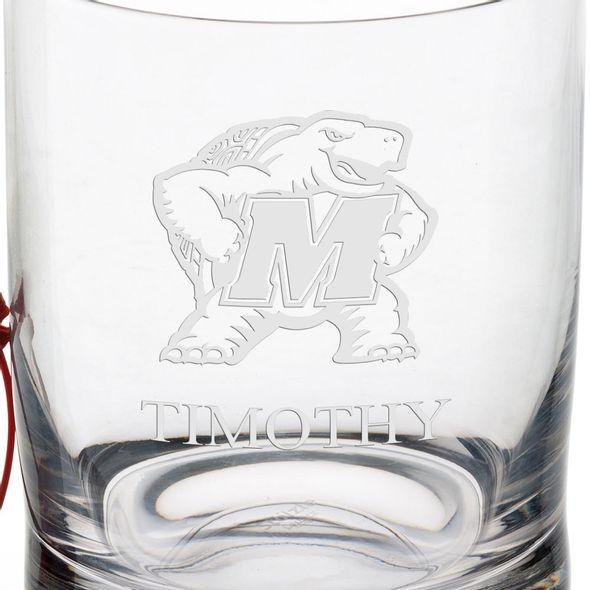 University of Maryland Tumbler Glasses - Set of 4 - Image 3