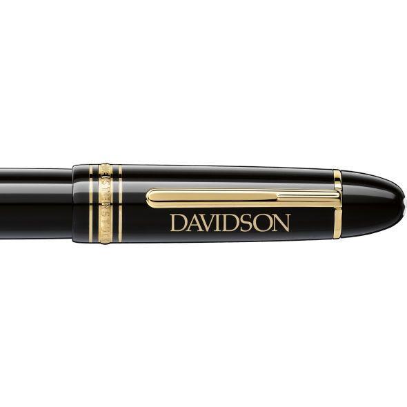 Davidson College Montblanc Meisterstück 149 Fountain Pen in Gold - Image 2