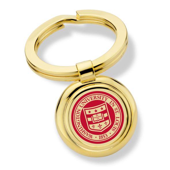 WashU Enamel Key Ring