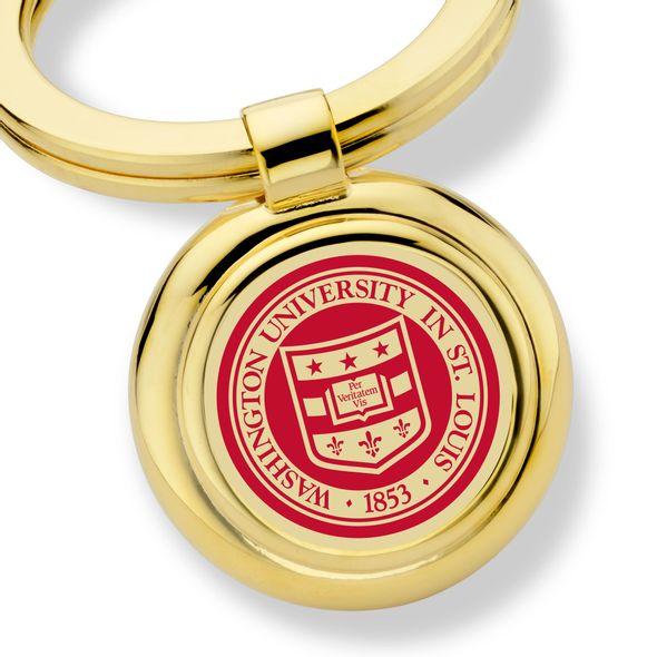 WashU Enamel Key Ring - Image 2