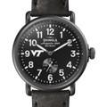Virginia Tech Shinola Watch, The Runwell 41mm Black Dial - Image 1