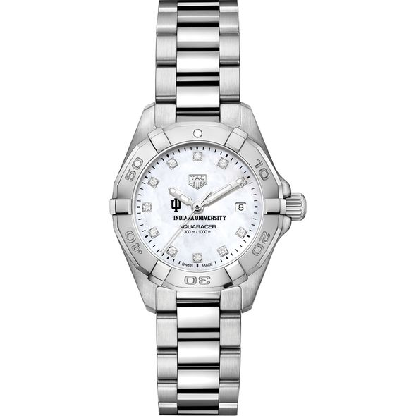 Indiana Women's TAG Heuer Steel Aquaracer with MOP Diamond Dial - Image 2