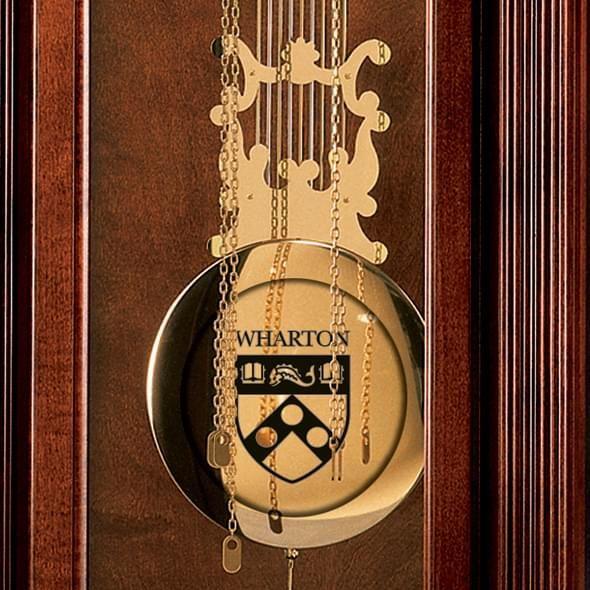 Wharton Howard Miller Grandfather Clock - Image 3
