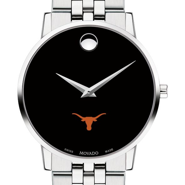 University of Texas Men's Movado Museum with Bracelet
