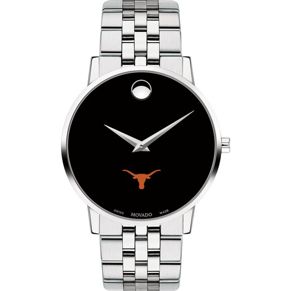 University of Texas Men's Movado Museum with Bracelet - Image 2