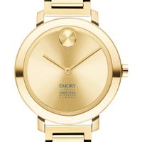 Emory Goizueta Business School Women's Movado Gold Bold 34