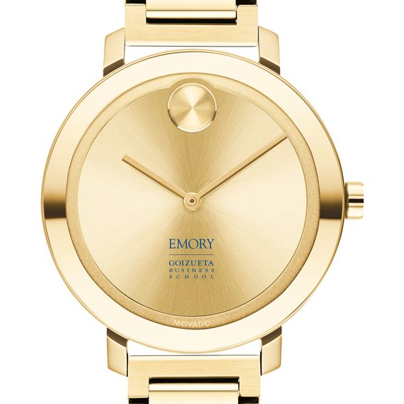Emory Goizueta Business School Women's Movado Gold Bold 34