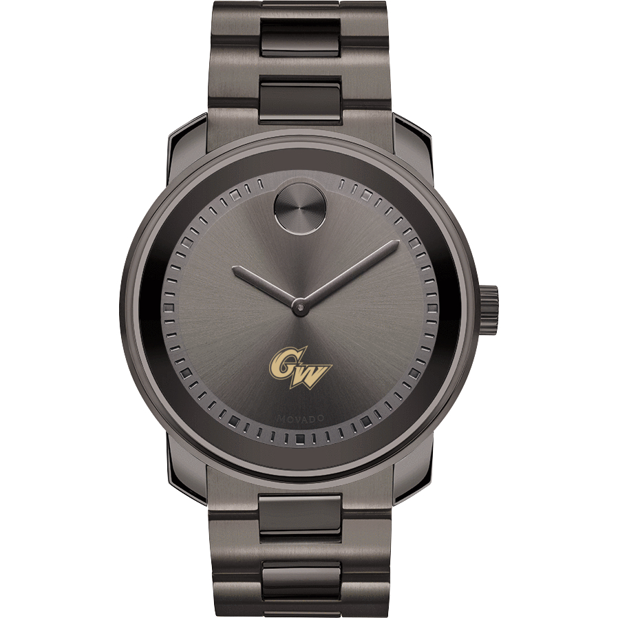 George Washington Men's Movado BOLD Gunmetal Grey - Image 2