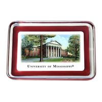 Ole Miss Eglomise Paperweight