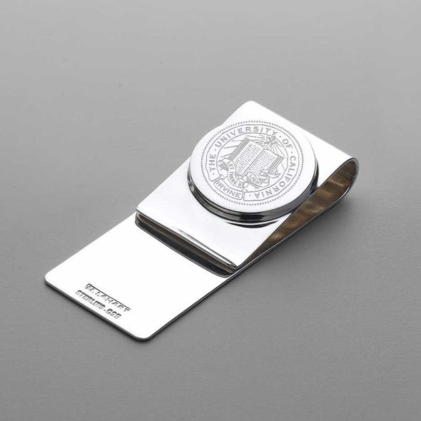 UC Irvine Sterling Silver Money Clip