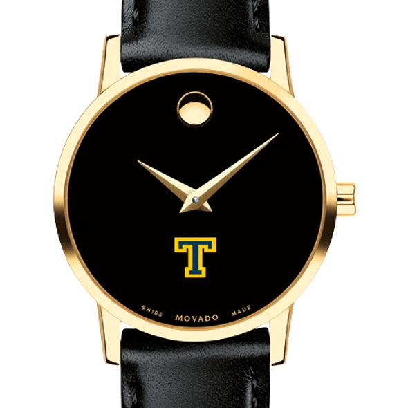 Trinity College Women's Movado Gold Museum Classic Leather