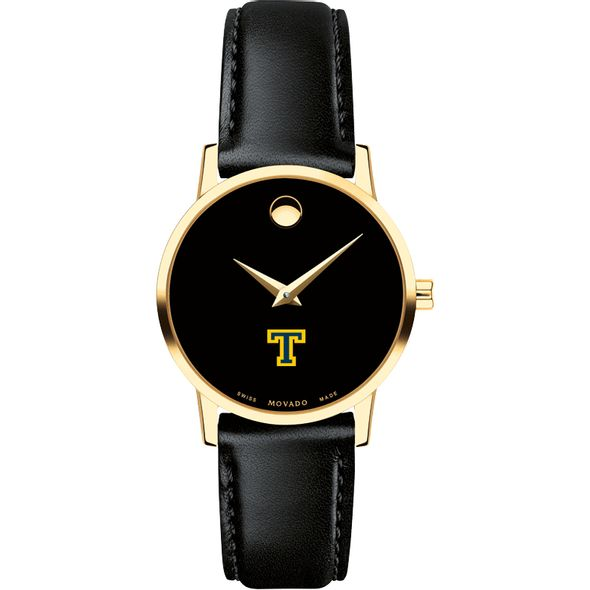 Trinity College Women's Movado Gold Museum Classic Leather - Image 2
