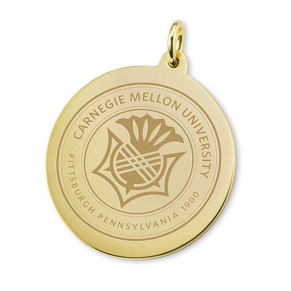 Carnegie Mellon 14K Gold Charm