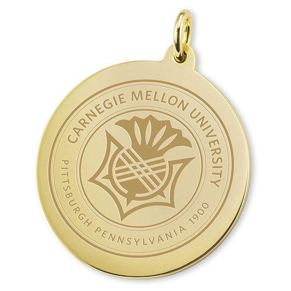 Carnegie Mellon University 14K Gold Charm - Image 2