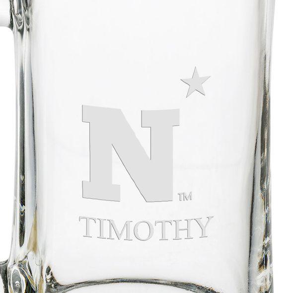 USNA Glass Stein - Image 3