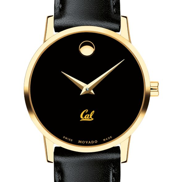 Berkeley Women's Movado Gold Museum Classic Leather - Image 1