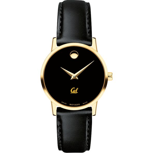Berkeley Women's Movado Gold Museum Classic Leather - Image 2