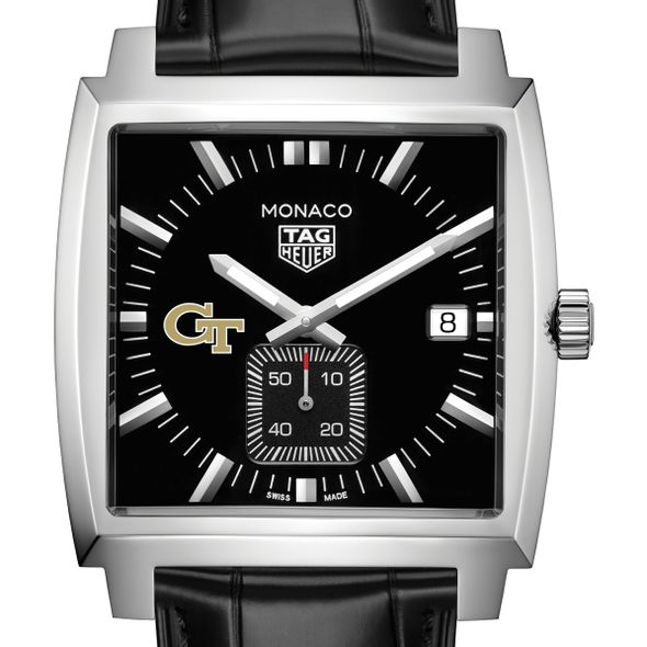 Georgia Tech TAG Heuer Monaco with Quartz Movement for Men