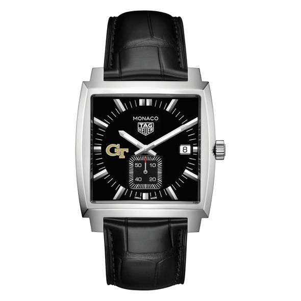 Georgia Tech TAG Heuer Monaco with Quartz Movement for Men - Image 2