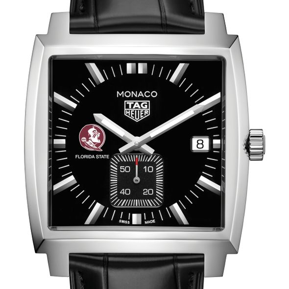 Florida State University TAG Heuer Monaco with Quartz Movement for Men