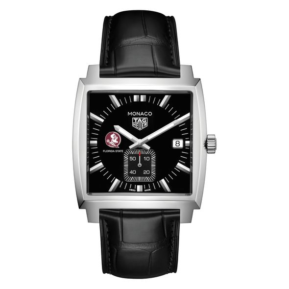 Florida State University TAG Heuer Monaco with Quartz Movement for Men - Image 2
