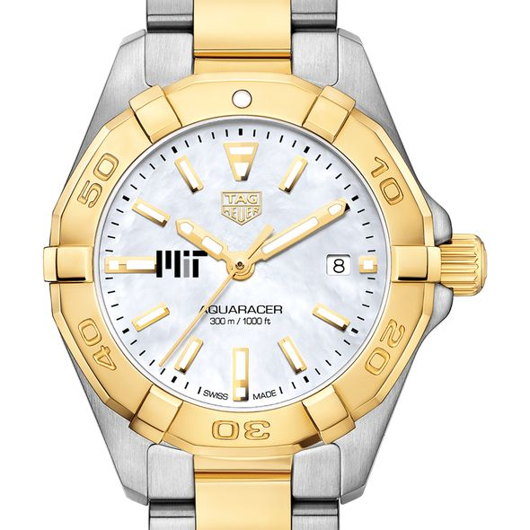 MIT TAG Heuer Two-Tone Aquaracer for Women - Image 1