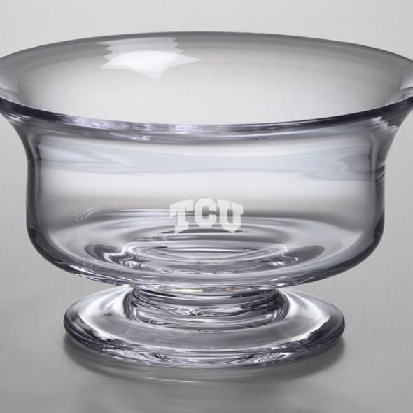 TCU Medium Glass Revere Bowl by Simon Pearce - Image 2