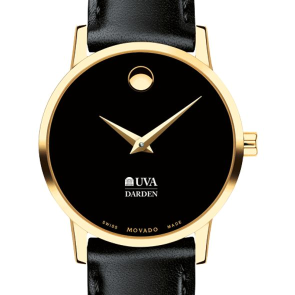 UVA Darden Women's Movado Gold Museum Classic Leather