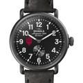 Indiana Shinola Watch, The Runwell 41mm Black Dial - Image 1
