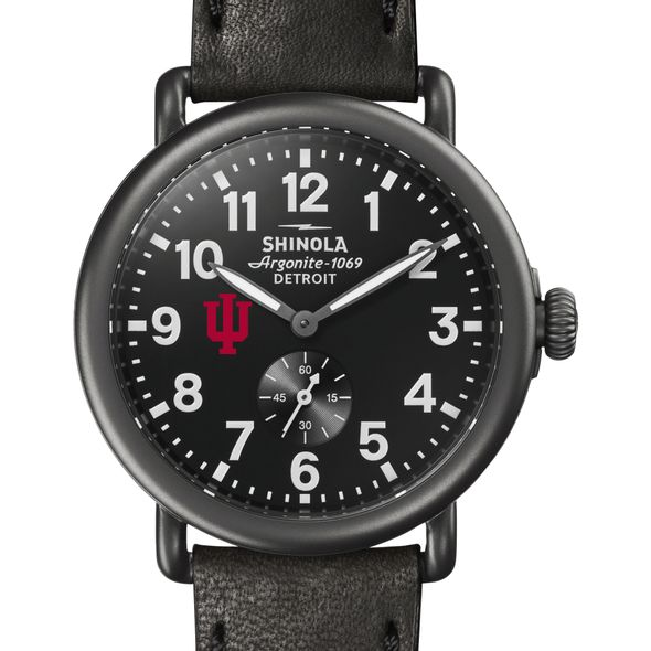 Indiana Shinola Watch, The Runwell 41mm Black Dial