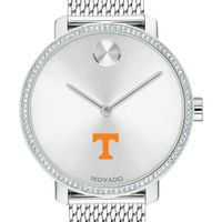 Tennessee Women's Movado Bold with Crystal Bezel & Mesh Bracelet