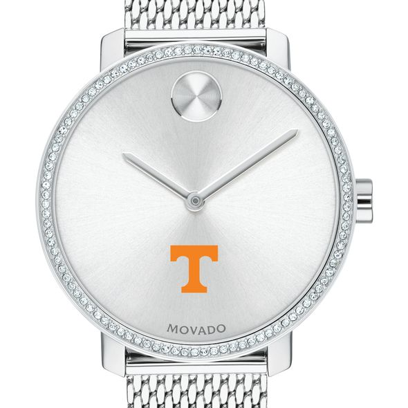 Tennessee Women's Movado Bold with Crystal Bezel & Mesh Bracelet - Image 1