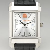 UVA Darden Men's Collegiate Watch with Leather Strap