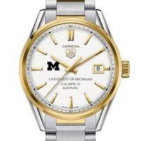 Michigan Men's TAG Heuer Two-Tone Carrera with Bracelet