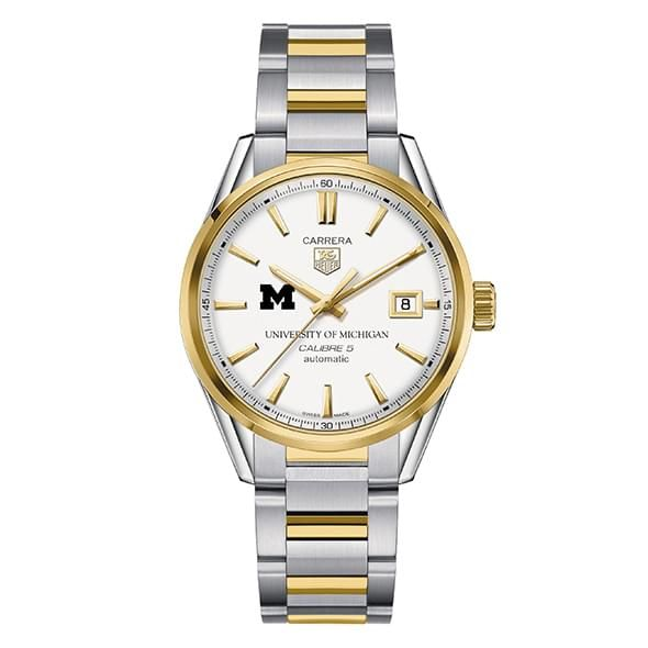 Michigan Men's TAG Heuer Two-Tone Carrera with Bracelet - Image 2