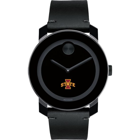 Iowa State University Men's Movado BOLD with Leather Strap - Image 2